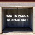 how to pack storage unit diagram